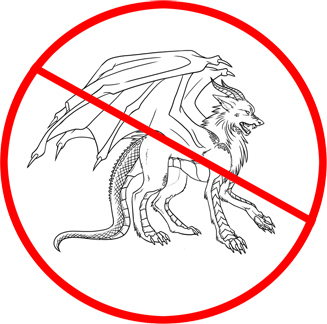 No Dragon Wolves