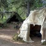 Hide Tent