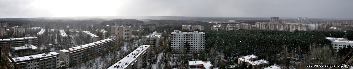 Post-Apocalyptic Pripyat, Ukraine